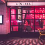 Photo of a movie theatre from Unsplash