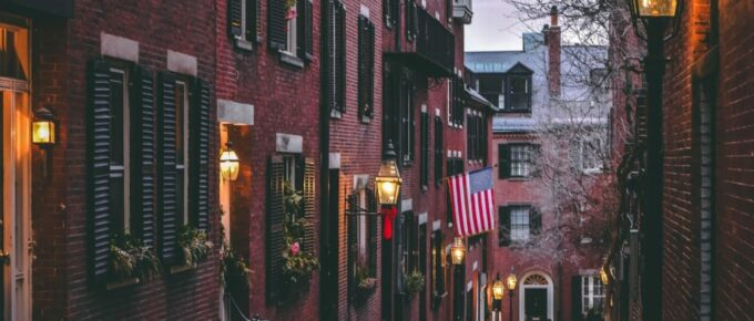 Photo of Boston MA street from Unsplash