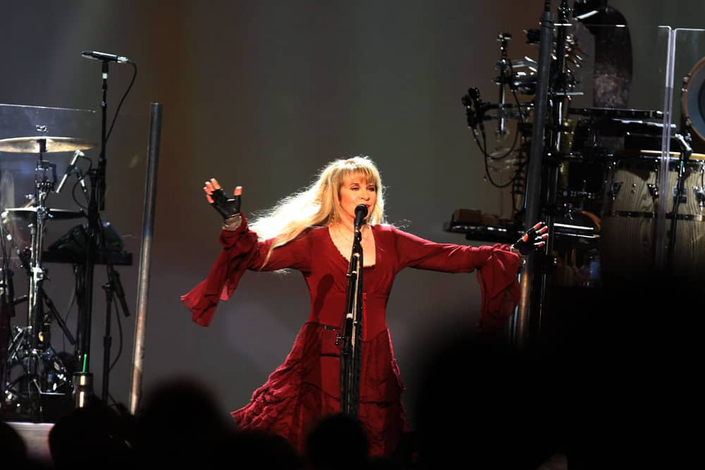 Stevie Nicks sings a witchy tune.