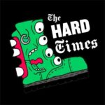 Logo for The Hard Times, a satirical punk news site