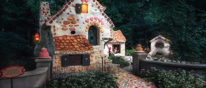 Real-life gingerbread house from Hansel & Gretel story