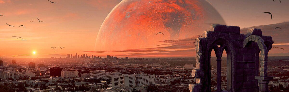 A (Photoshopped) martian city