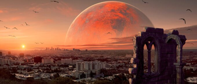 A (Photoshopped) martian city
