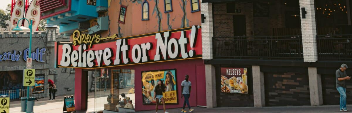 Exterior of Ripley's Believe It Or Not