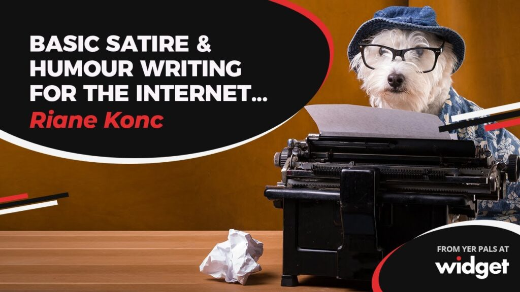 A thumbnail for Riane Konc's Basic Satire & Humour Writing course