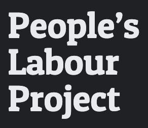 People's Labour Project temporary logo