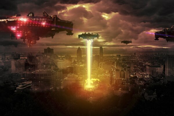 Alien invasion of earth