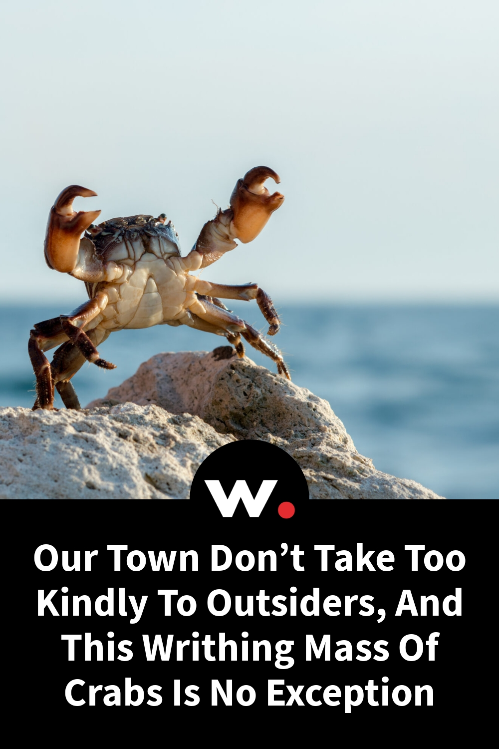 Our Town Don't Take Too Kindly To Outsiders, And This Writhing Mass Of Crabs Is No Exception