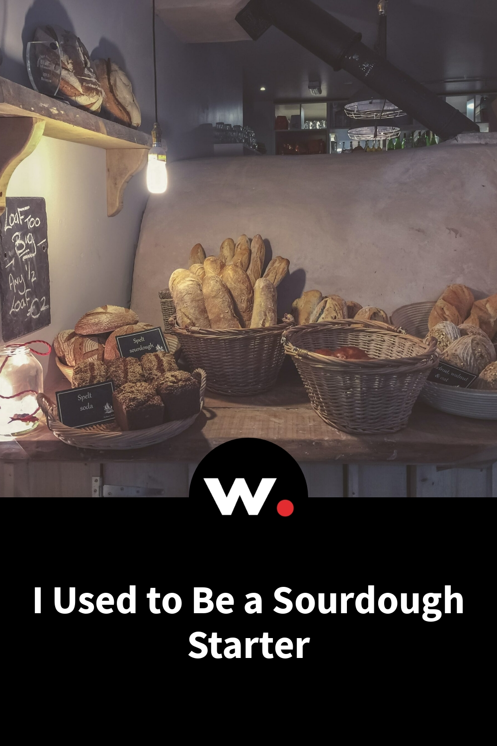 I Used to Be a Sourdough Starter