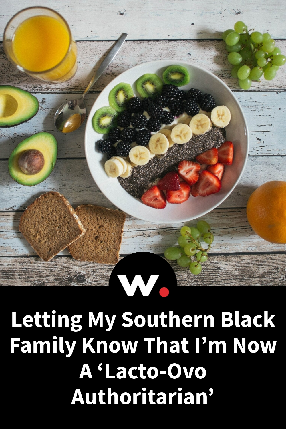 Letting My Southern Black Family Know That I'm Now A 'Lacto-Ovo Authoritarian'