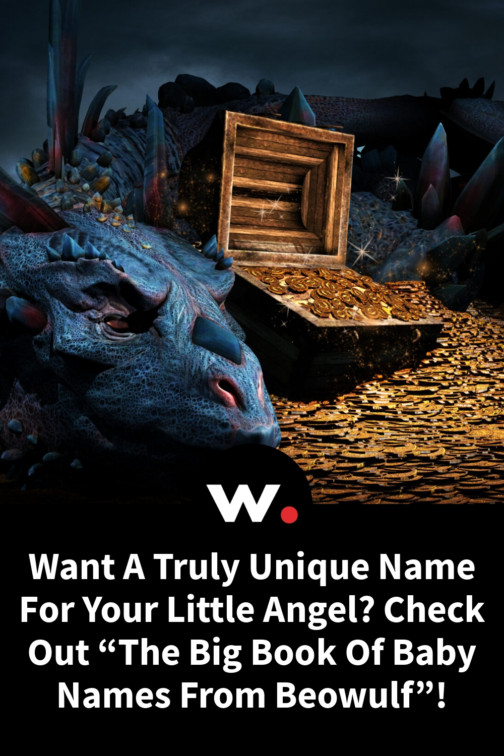 """Want A Truly Unique Name For Your Little Angel?  Check Out """"The Big Book Of Baby Names From Beowulf""""!"""