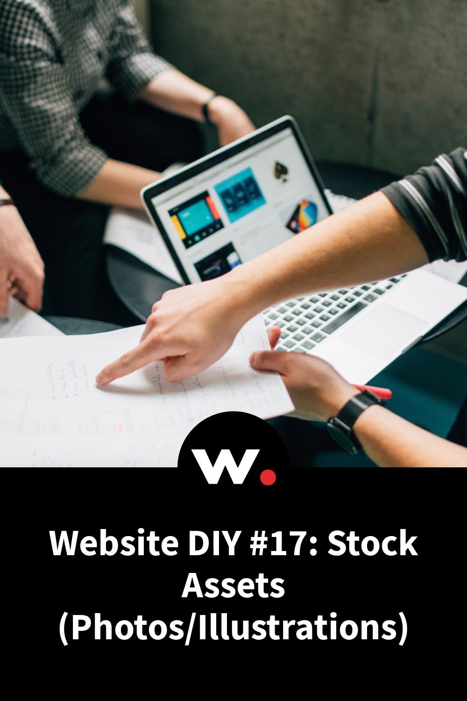 Website DIY #17: Stock Assets (Photos/Illustrations)